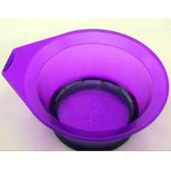 Dye bowl with the rubber circle in bottom