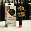 branded rainbow hair brush