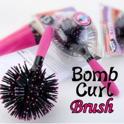 3D Bomb Curl Styling Brush as seen on tv